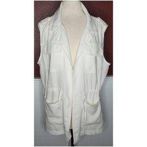 Jackets & Blazers - Linen blend vest